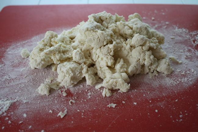 cream biscuit dough for shortcakes