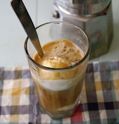 cafe affogato