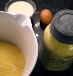 cornmeal mixture