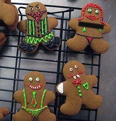 "gingerbread ""people"""