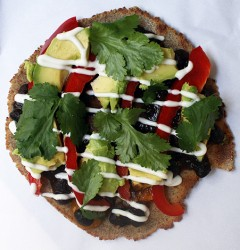 quinoa mexican pizza